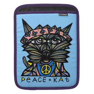 """Hülsen-Kasten """"FriedensKat"""" Ipad Sleeve Für iPads"""