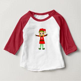 Hülseraglan-T-Shirt des Funkeln-Baby-3/4 Baby T-shirt