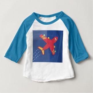 Hülseraglan-T - Shirt-Flugzeug-Flugzeuge des Baby T-shirt
