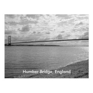 Humber Brücken-Postkarte Postkarte