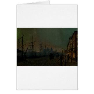 Humber Dockside, Rumpf durch John Atkinson Karte
