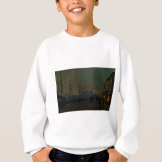 Humber Dockside, Rumpf durch John Atkinson Sweatshirt