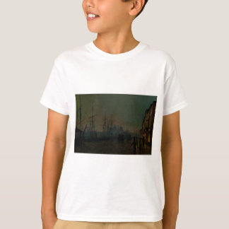 Humber Dockside, Rumpf durch John Atkinson T-Shirt
