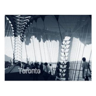 Humber Fluss-Bogenbrücke, Toronto, Sunnyside Postkarte