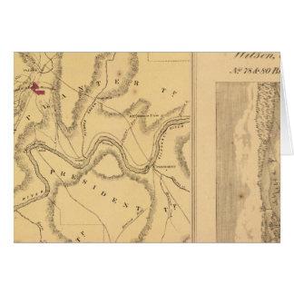 Humboldt-Bergbau u. Hinweis Co Karte