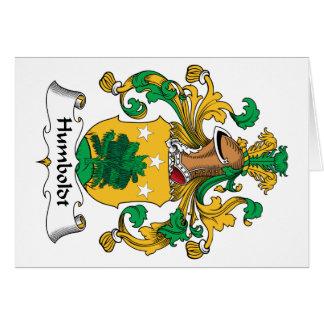 Humboldt-Familienwappen Karte