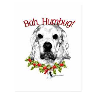 Humbug Cocker spaniels Bah Postkarte