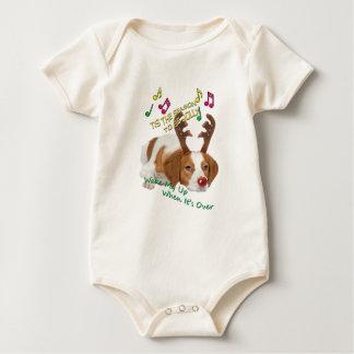 Humbug-Weihnachtsgeschenke Bretagne Bah Baby Strampler