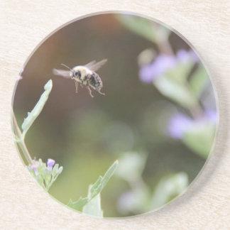 Hummel-Biene Sandstein Untersetzer