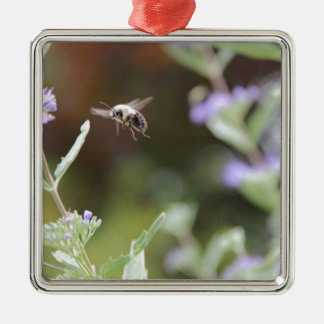 Hummel-Biene Silbernes Ornament