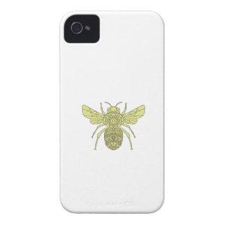 Hummel-BieneMandala iPhone 4 Cover