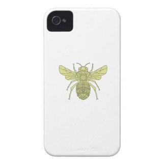 Hummel-BieneMandala iPhone 4 Hülle