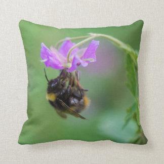Hummel-Bienen-Foto Kissen
