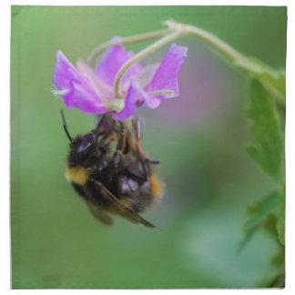 Hummel-Bienen-Foto Serviette