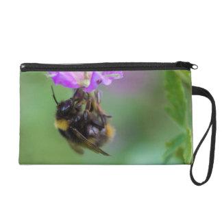 Hummel-Bienen-Foto Wristlet Handtasche