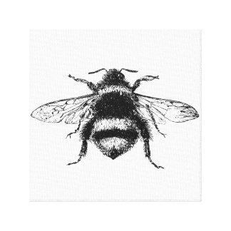 Hummel-Bienen-Leinwand-Druck Leinwanddruck