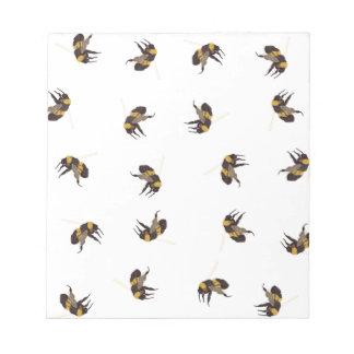 Hummel-Bienen Notizblock