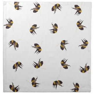 Hummel-Bienen Stoffserviette