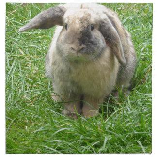 Hummel-Kaninchen Stoffserviette