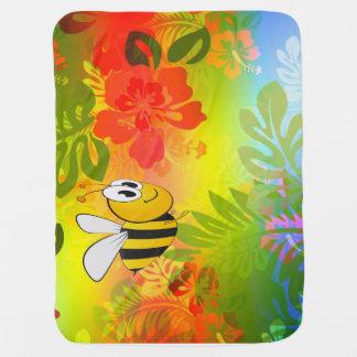 Hummelbienendecke Baby-Decken