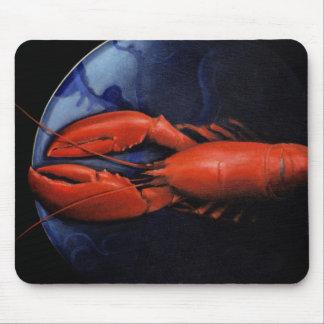 Hummer auf Tiffany-Platte Mousepad