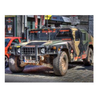 Hummer H1 Postkarte