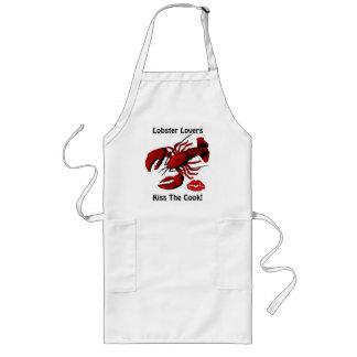 Hummer-Liebhaber küssen die Koch-Schürze Lange Schürze