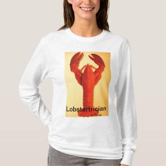 Hummer-Liebhaber-T-Shirt.  Meeresfrüchteesser T-Shirt