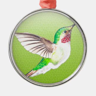 Hummer Limon Silbernes Ornament