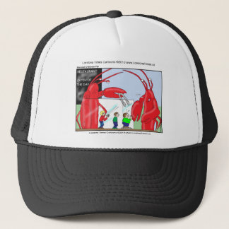 Hummer-Restaurant-lustige T-Shirts-Tassen u. Truckerkappe