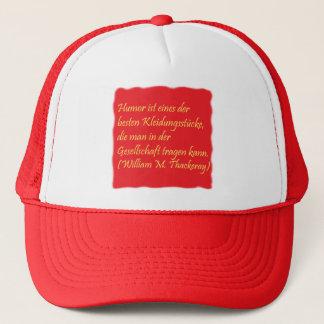 Humor und Gesellschaft Truckerkappe
