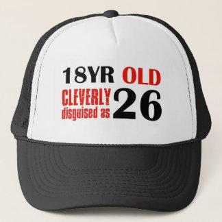 Humorvolle 26 jährige Geburtstagsgeschenke Truckerkappe