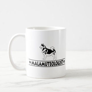 Humorvoller alaskischer Malamute Kaffeetasse