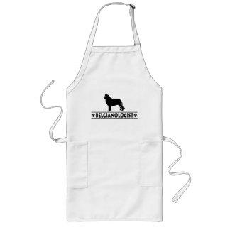 Humorvoller belgischer Schäferhund Schürze