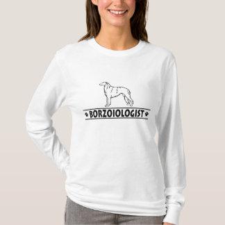Humorvoller Borzoi-Hund T-Shirt