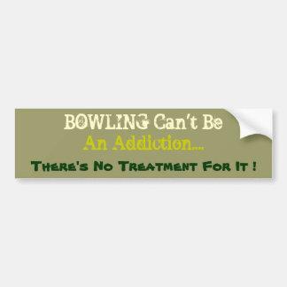 Humorvoller Bowlings-Autoaufkleber Autoaufkleber
