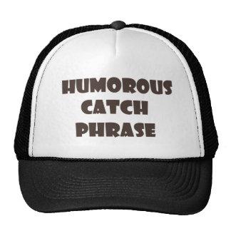 Humorvoller Fang-Phasen-Fernlastfahrer-Hut Kult Cap
