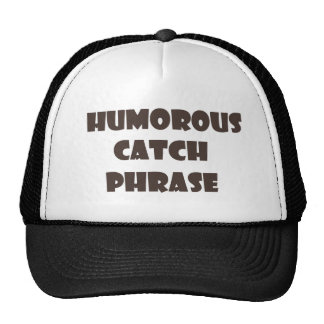 Humorvoller Fang-Phasen-Fernlastfahrer-Hut Netzmütze