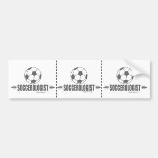 Humorvoller Fußball Auto Sticker