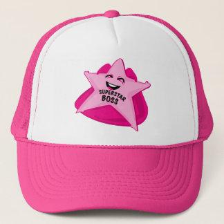 humorvoller Hut des Superstarchefs! Truckerkappe