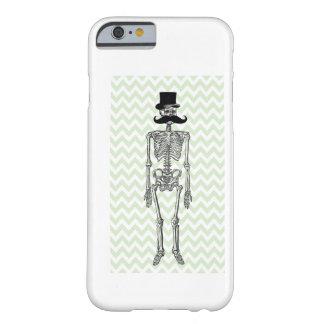 Humorvoller Schnurrbart auf Skeleton LIMONEM Barely There iPhone 6 Hülle