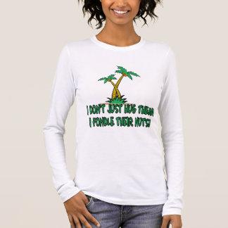 Humorvoller treehugger Frauen Langarm T-Shirt