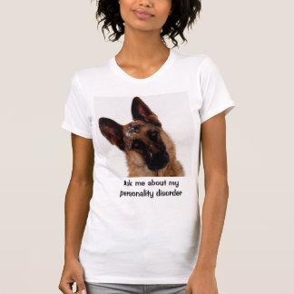 Humorvoller und lustiger Schäferhund T-Shirt