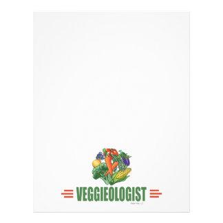 Humorvoller Vegetarier Flyer Druck