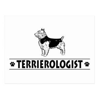 Humorvolles australisches Terrier Postkarte