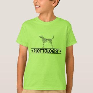Humorvolles Brindle Plott T-Shirt