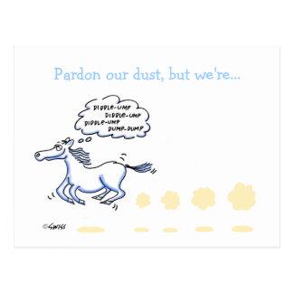 Humorvolles Geschäfts-bewegliche Postkarte