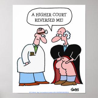 Humorvolles medizinisches Büro-Plakat Poster