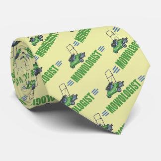 Humorvolles Rasen-Mähen Krawatten