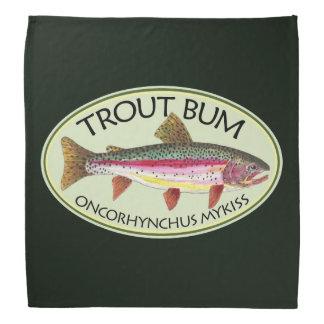 Humorvolles Regenbogenforelle-Gammler-Fischen Halstuch